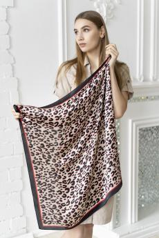 Новинка: платок женский черный с красным MYLIKE
