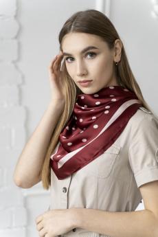 Новинка: платок женский бордовый MYLIKE